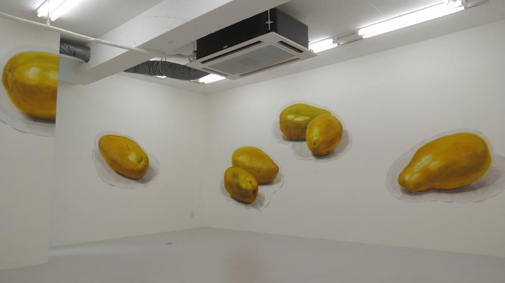 Yoshihiko Yaegashi Art Works - Gallery Hinoki F, Tokyo 2015