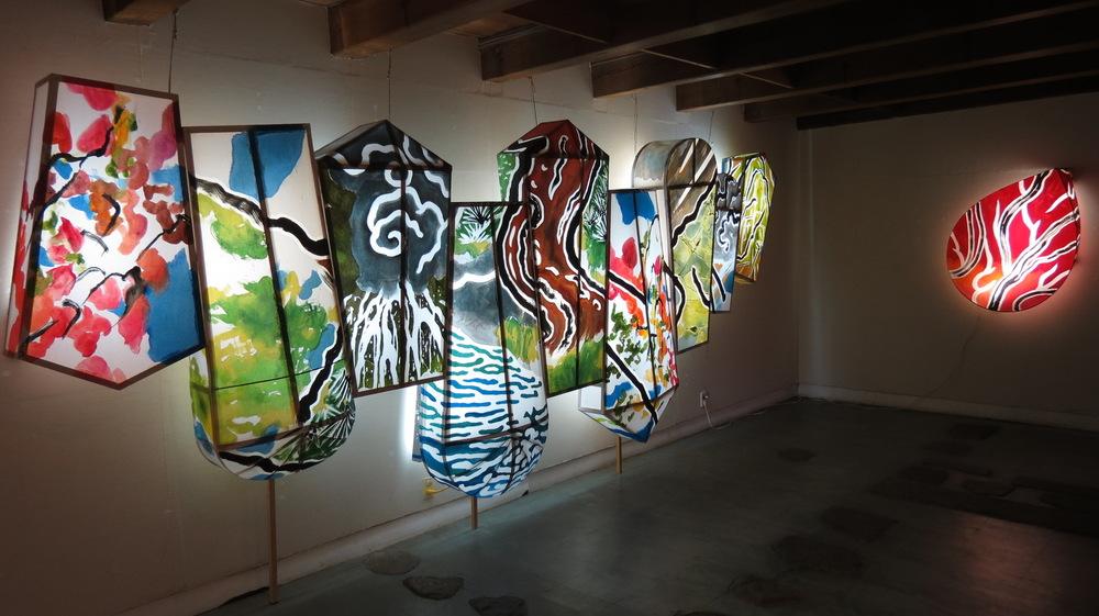 Yoshihiko Yaegashi Art Works - Gallery Saiensu, Morioka 2012