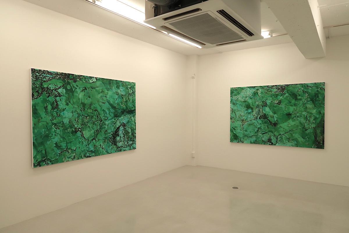 Yoshihiko Yaegashi Art Works - Gallery Hinoki F, Tokyo 2020