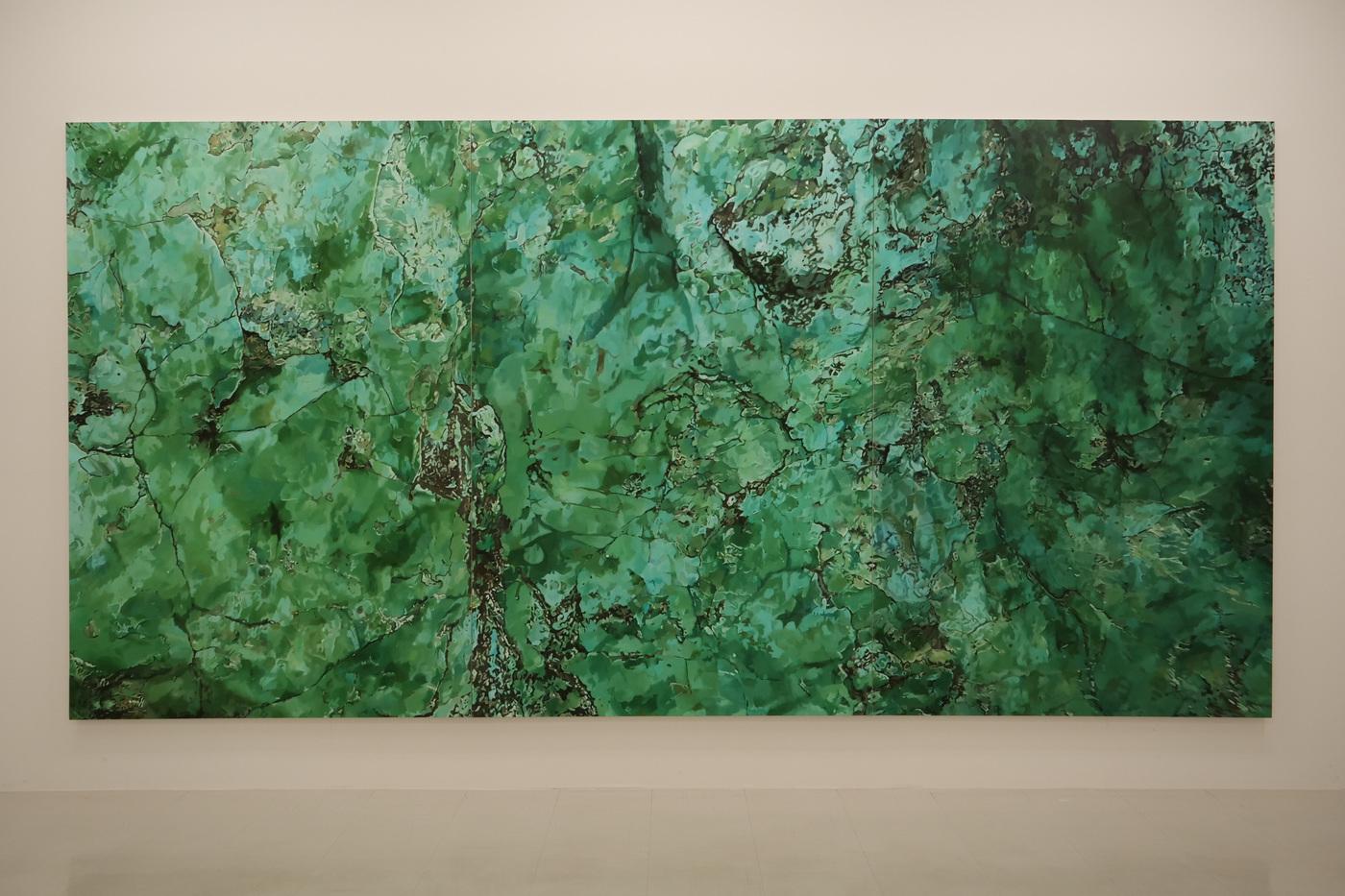 Yoshihiko Yaegashi Art Works - Gallery Hinoki F, Tokyo 2021