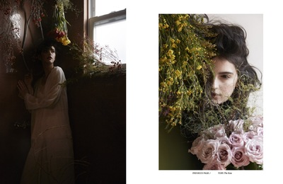 Junko Komada MAKE UP& HAIR - Atlas magazine sprout