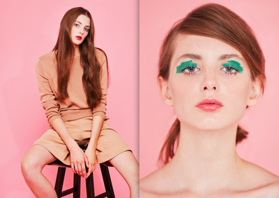 Junko Komada MAKE UP& HAIR - Lucys magazine warm talks