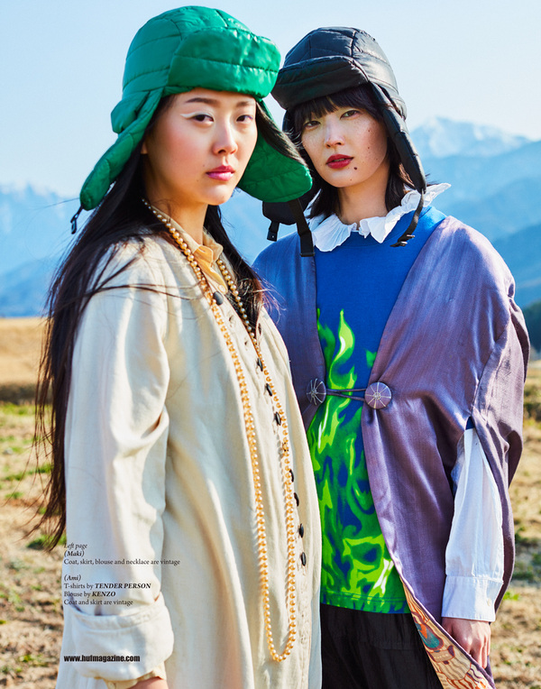 Junko Komada MAKE UP& HAIR - HUF magazine