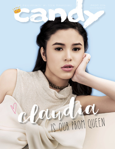 MJ BENITEZ - Claudia Barretto, Candy Magazine Prom Special (December-January 2016)