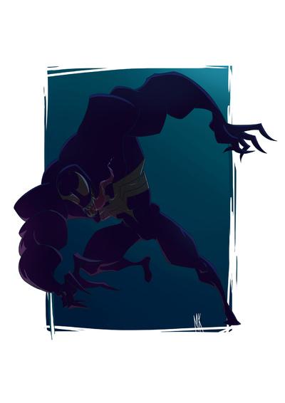 Keb Makasiar - Venom Fan Art
