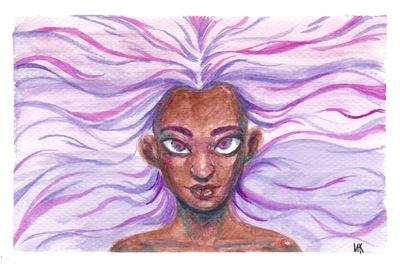 Keb Makasiar - Watercolor 4x6