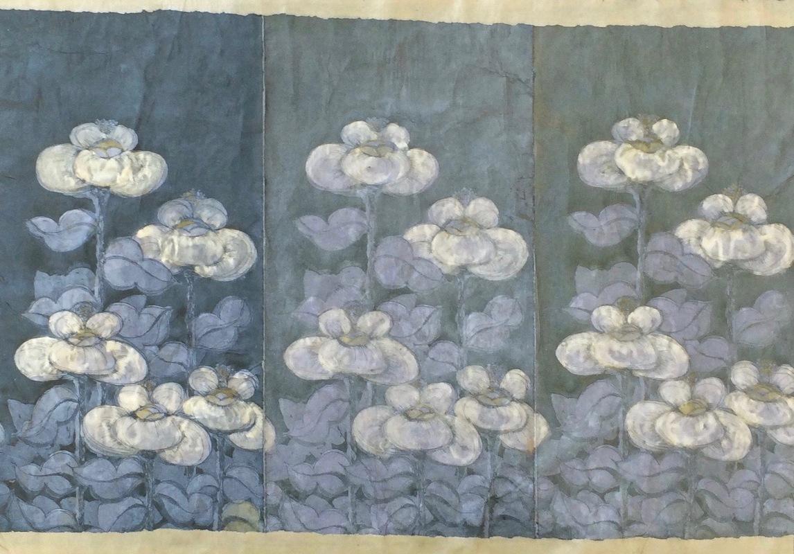 DIANA DAYMOND ART AND DESIGN - CLOUD FLOWER FIELD