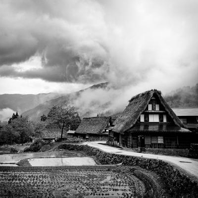 Traditional Japanese House In Gokayama, Toyama Prefecture, Japan