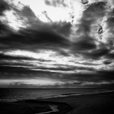 Clouds Over The Sea, Kamogawa, Chiba Prefecture, Japan