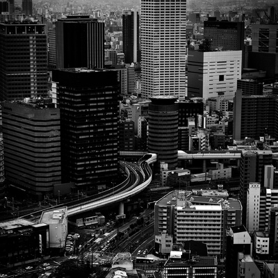 Osaka Cityscape, Japan