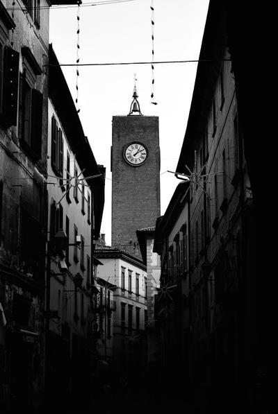 Street In Orvieto, Italy