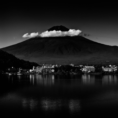 Clouds Over Mount Fuji, Shizuoka Prefecture, Japan