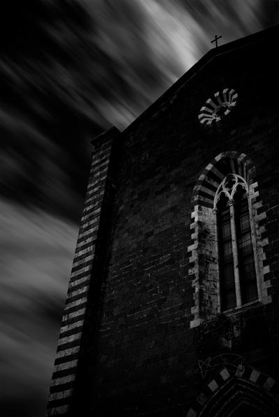 Church In Orvieto, Italy