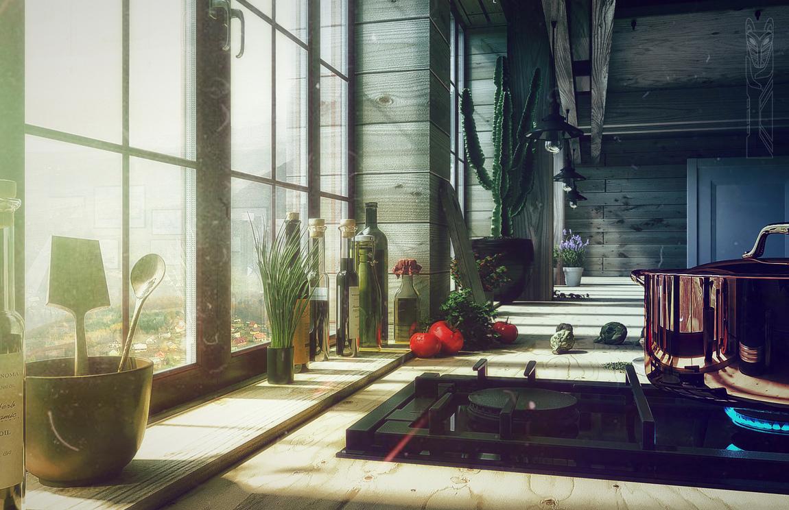 3D_feel - Architect house